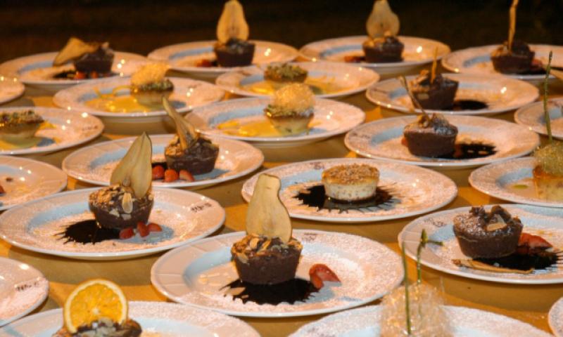 Dessert Eventi Di prestigio